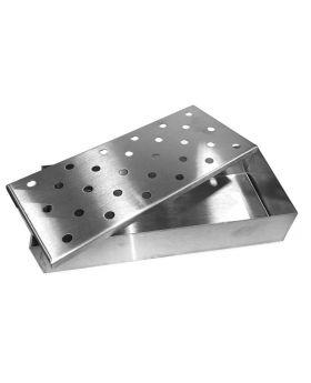 Edelstahl Räucherbox