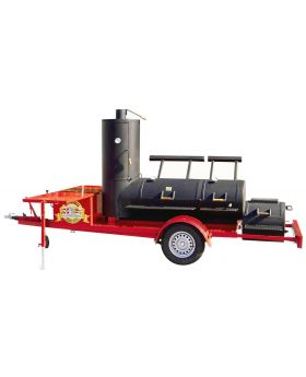 24 Extended Catering Smoker Trailer