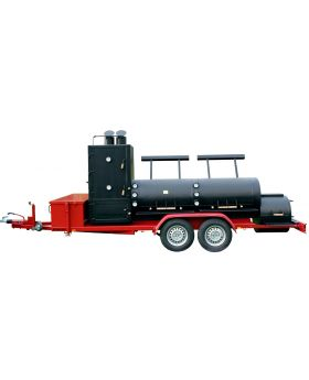 30 Extended Catering Smoker Trailer / Doppelachse