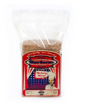 Axtschlag Hickory Räuchermehl 1kg