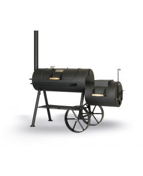 SMOKY FUN Party Wagon 6 Reverse Flow inkl. Grillroste 2. Stock