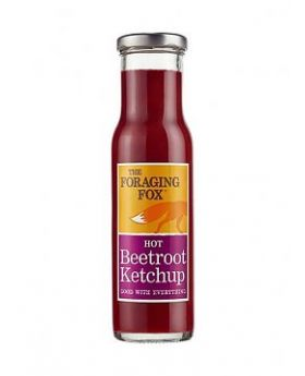 The Foraging Fox HOT Beetroot Ketchup - 230ml