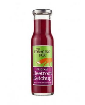 The Foraging Fox Original Beetroot Ketchup 230ml