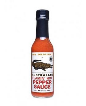 The Original Australian Flamin Hot Pepper Sauce 148ml