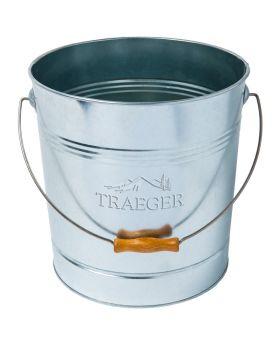 Traeger Pellet-Aufbewahrungseimer aus Metall, 10 kg Kapazität