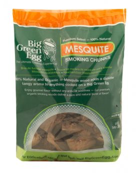 BGE Wood Chunks Mesquite 9L