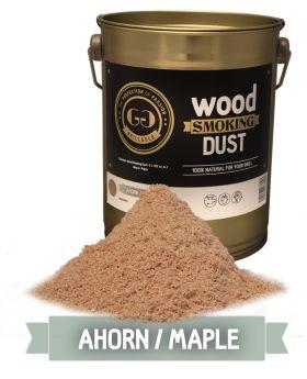 Wood Smoking Dust / Ahorn / 2 Liter  (122 cu. in.)