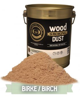 Wood Smoking Dust / Birke / 2 Liter  (122 cu. in.)