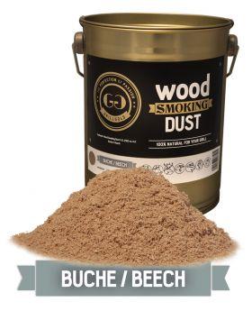 Wood Smoking Dust / Buche / 2 Liter  (122 cu. in.)