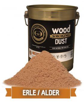 Wood Smoking Dust / Erle / 2 Liter  (122 cu. in.)