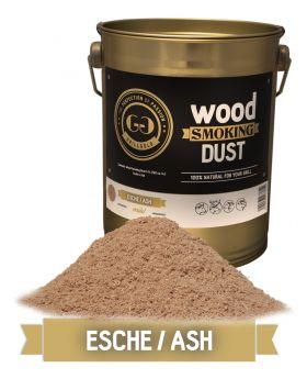 Wood Smoking Dust / Esche / 2 Liter  (122 cu. in.)