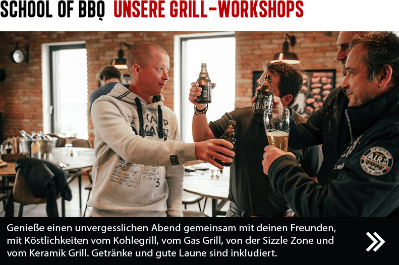 School of BBQ - unsere Grill-Workshops